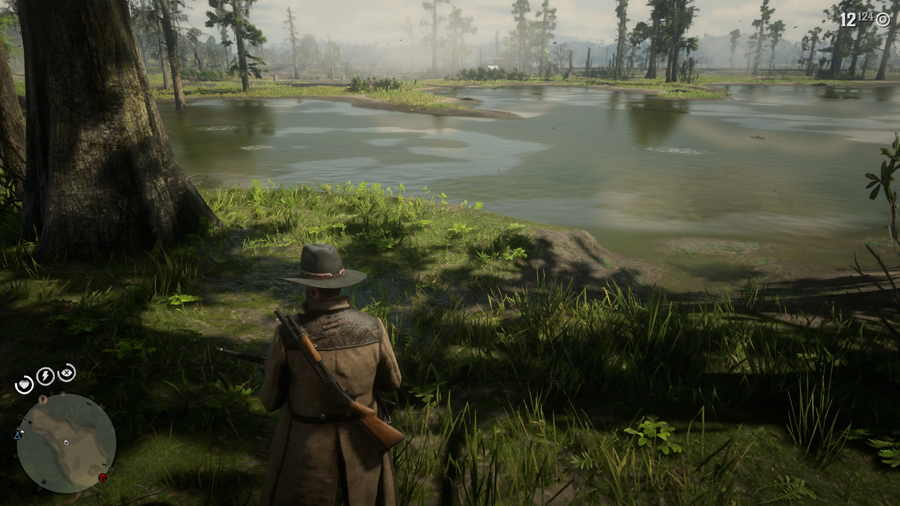 Red Dead Online Bluewater Marsh Treasure Map 2 2