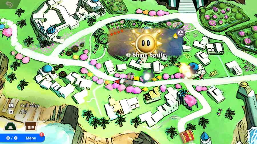 Shine Sprite Smash Bros Ultimate