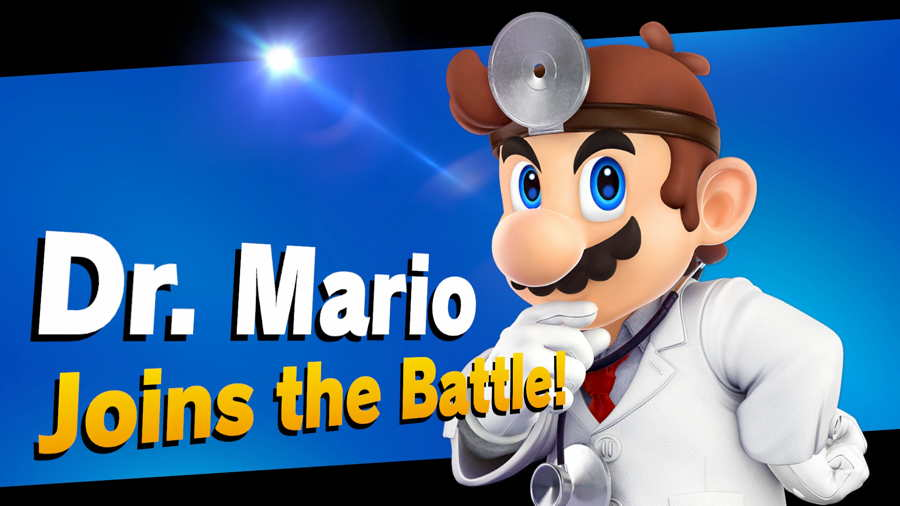 Super Smash Brothers Ultimate Dr MarioUnlock