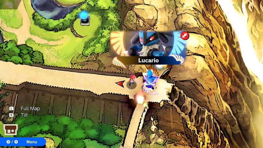 Super Smash Brothers Ultimate Lucario Unlock