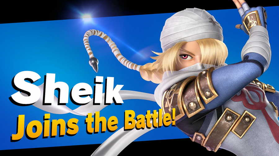 Super Smash Brothers Ultimate Sheik Unlock