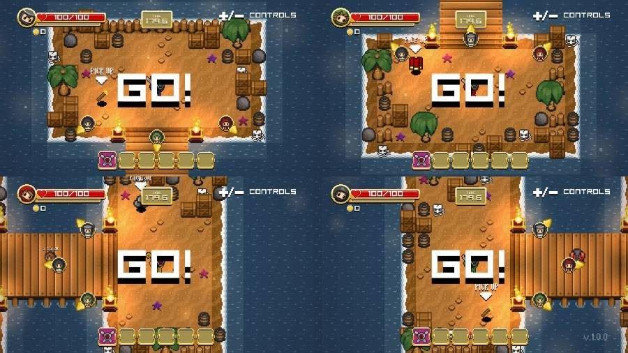 Super Treasure Arena - Gamers Heroes