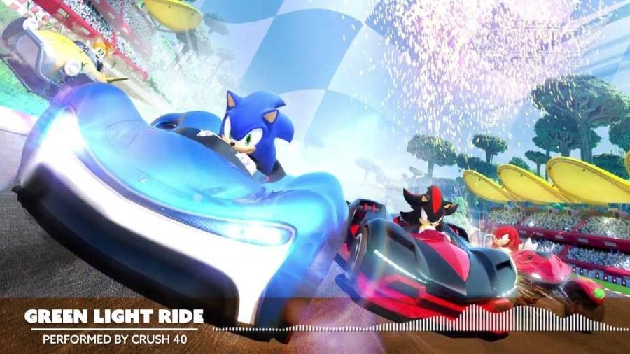 Team Sonic Racing Green Light Ride - Gamers Heroes