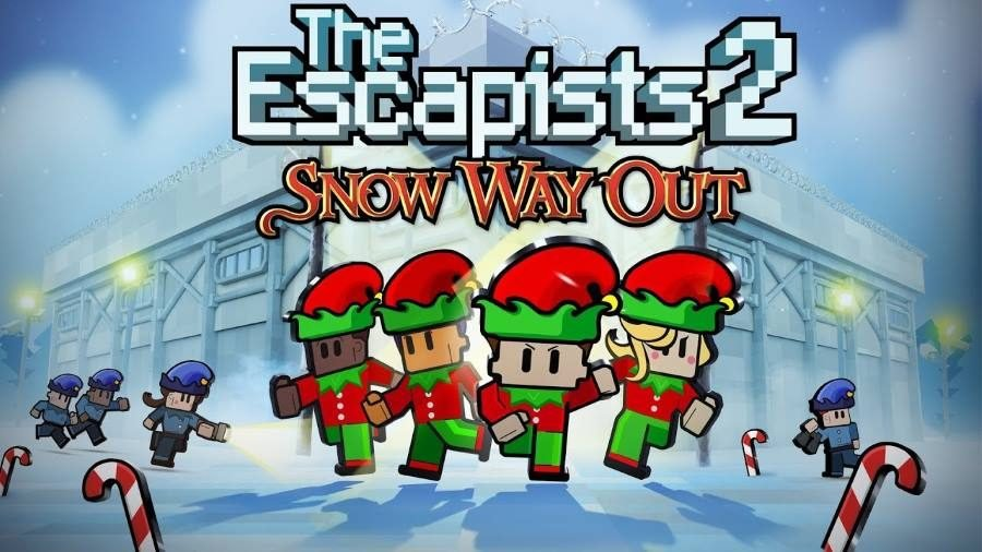 The Escapists 2 Snow Way Out - Gamers Heroes