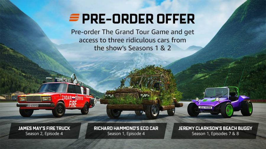 The Grand Tour Game Pre-Order Bonuses - Gamers Heroes