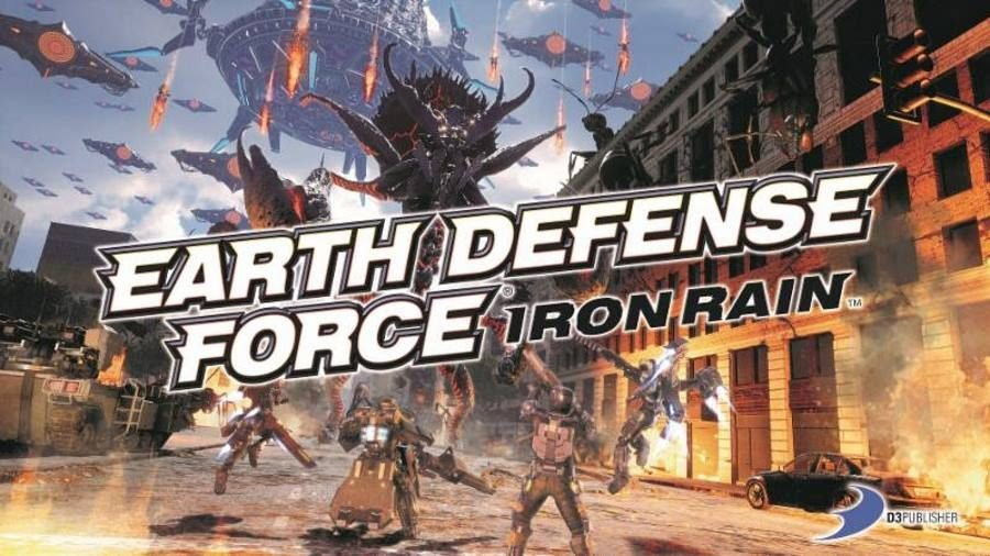 Earth Defense Force Iron Rain - Gamers Heroes