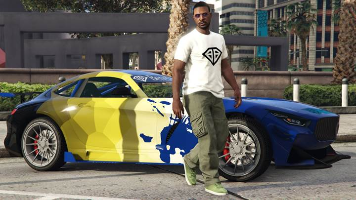 GTA Online Benefactor T-Shirt - Gamers Heroes