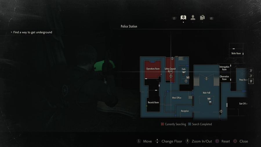 Gun Locker Location RE 2