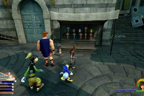 Kingdom Hearts 3 Golden Hercules Statue Locations Guide