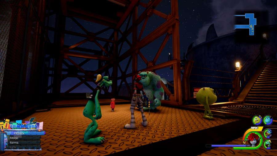 Monsters Inc Damascus 2 kh 3