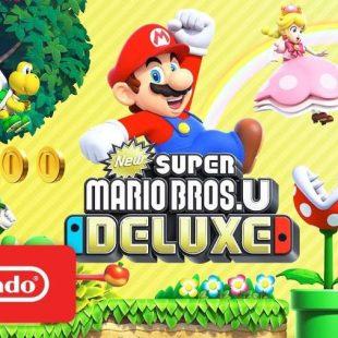 New Super Mario Bros U Deluxe Gets Launch Trailer