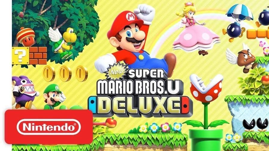 New Super Mario Bros U Deluxe - Gamers Heroes