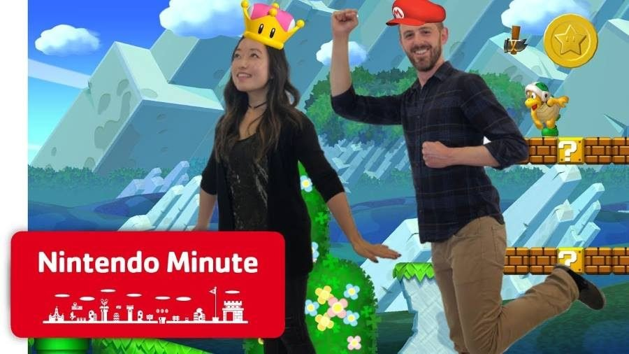 New Super Mario Bros U Deluxe Nintendo Minute - Gamers Heroes