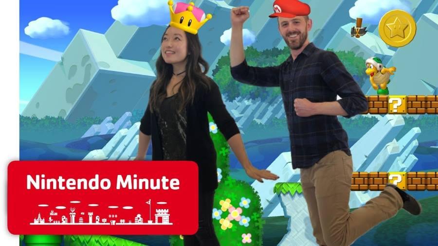 New Super Mario Bros U Deluxe Gets 10 Minute Co-op ...
