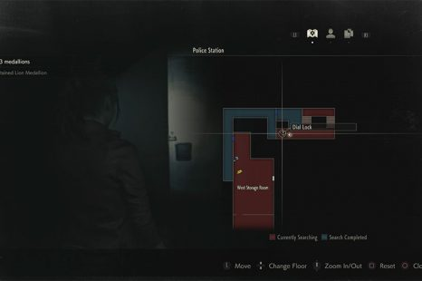 Resident Evil 2 3F Locker Combination Guide