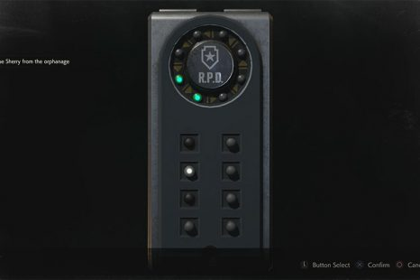 Resident Evil 2 Portable Safe Combination Guide