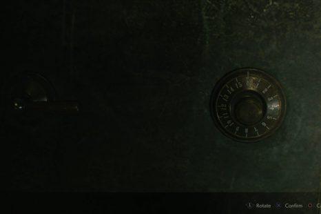 Resident Evil 2 Treatment Pool Room Safe Code