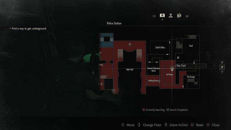 Weapons Locker Keycard Location Resident Evil 2
