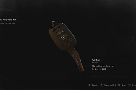 What To Use The Bent Car Key On In Resident Evil 2