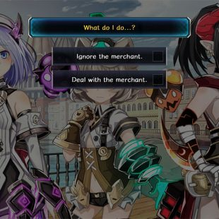 Death End re;Quest Ignore The Merchant Or Deal With Her