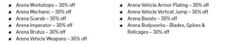 GTA Online Arena War Discounts - Gamers Heroes