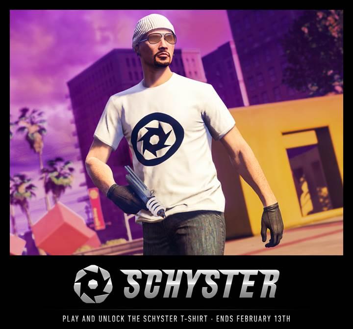 GTA Online Schyster T-shirt - Gamers Heroes