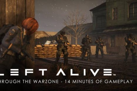 Left Alive Gets 14 Minutes of New Gameplay