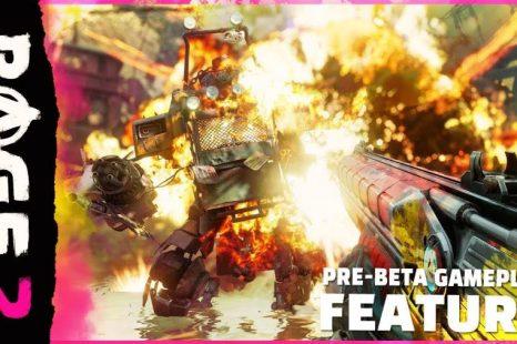 RAGE 2 Gets 9 minutes of Pre-Beta Gameplay