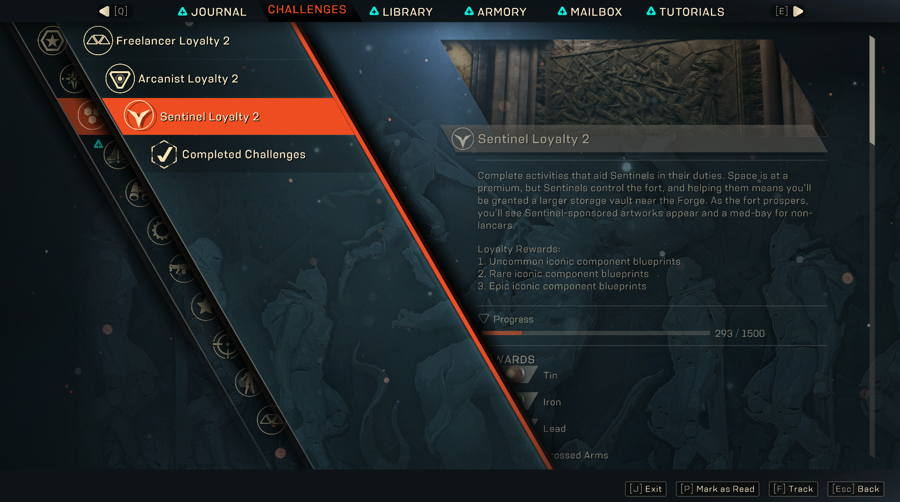 How To Earn Sentinel Rep In Anthem