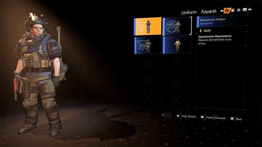 Demolitionist Uniform