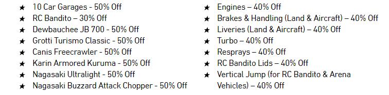 GTA Online 10 Car Garages Discounts - Gamers Heroes