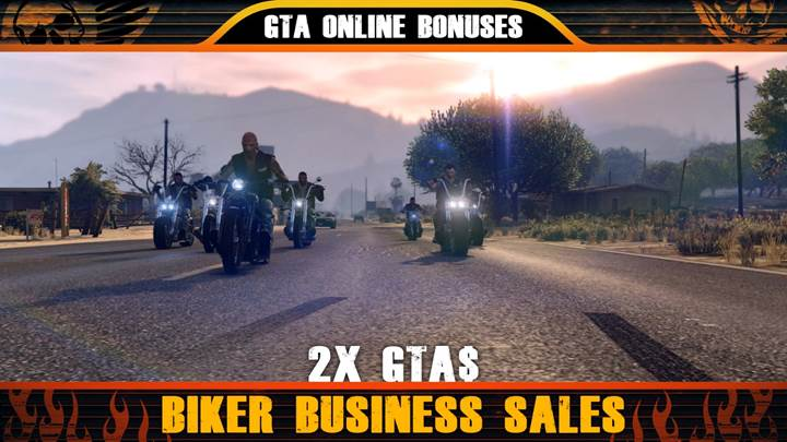 GTA Online Biker Business Sales - Gamers Heroes