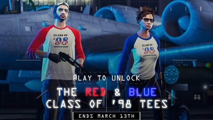 GTA Online Class of 98 Tees - Gamers Heroes