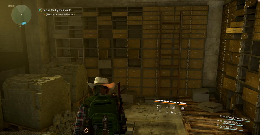 Gold Bar spot The Division 2