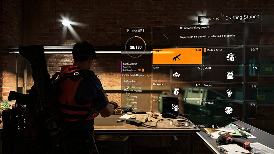 How To Craft High End Gold Yellow Items In The Division 2 Gamersheroes