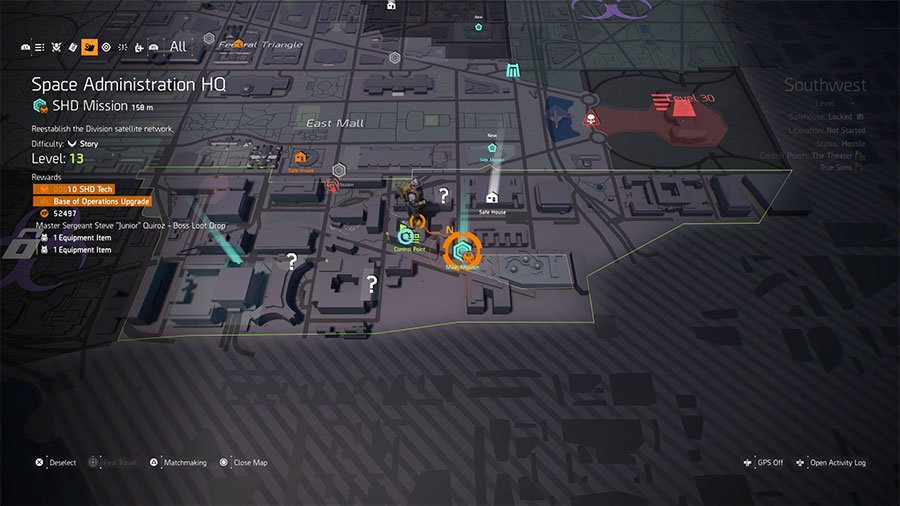 How To Upgrade Base Of Operations In The Division 2
