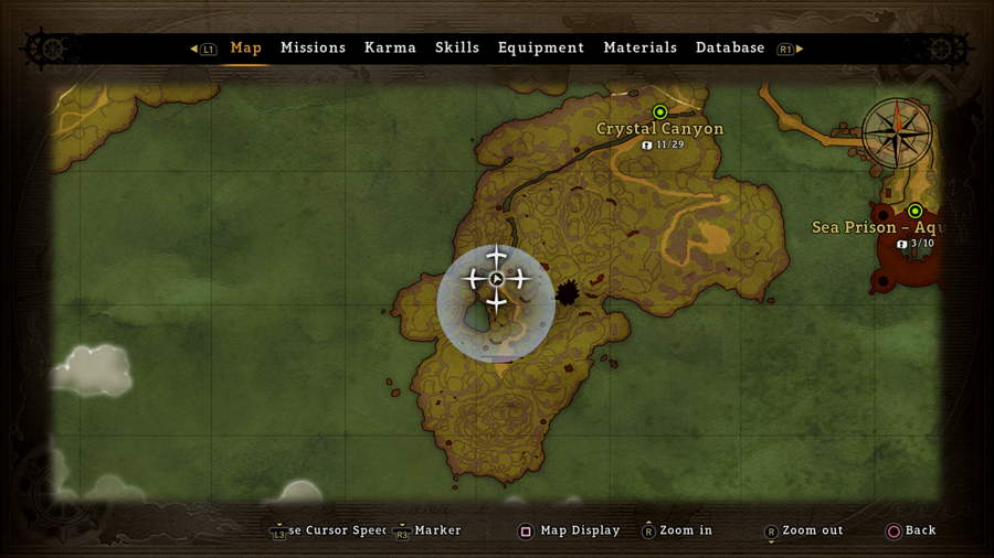 Map 2 One Piece World Seeker