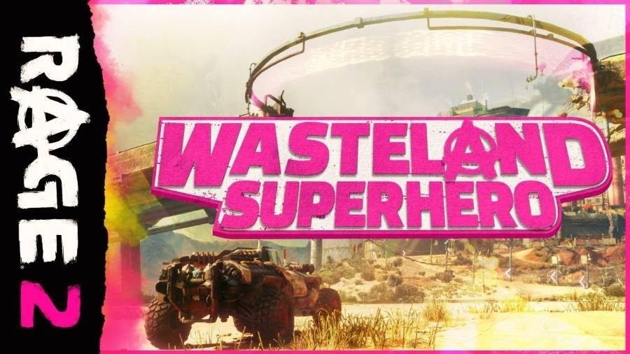 RAGE 2 Wasteland Superhero - Gamers Heroes
