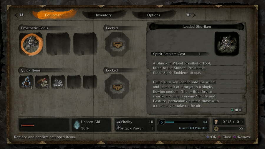Sekiro Shadows Die Twice Prosthetic Tools Location Guide