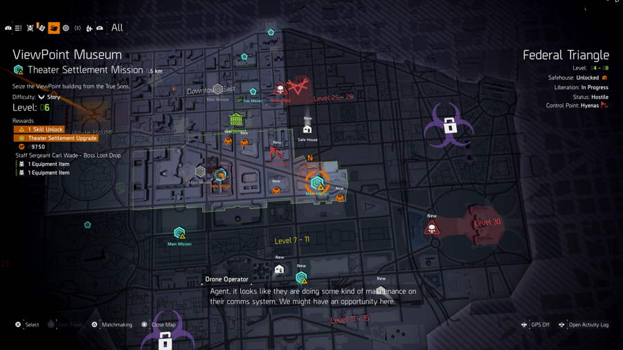 Skill Point Unlock The Division 2