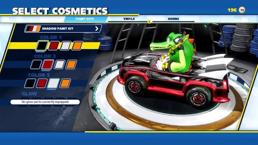 Team Sonic Racing Customization - Gamers Heroes