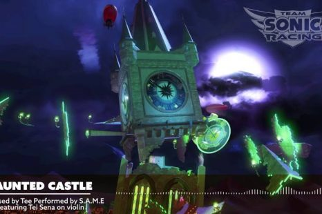 "Team Sonic Racing ""Haunted Castle"" Song Released"