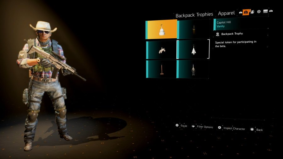 The Division 2 Backpack Trophies Location Guide