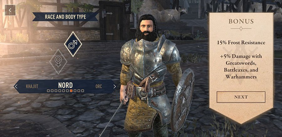 The Elder Scrolls Blades Races Guide