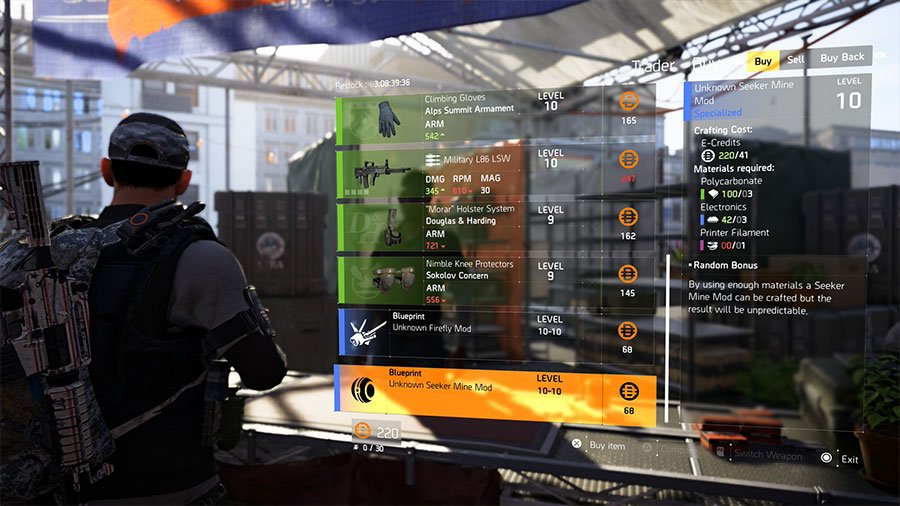 Where To Find Skill Mods In The Division 2