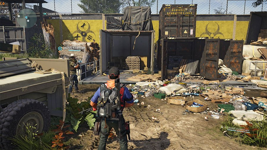 Where To Find The C4 In The Division 2