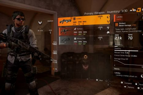 Where To Find Your Pre-Order Items In The Division 2