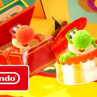 Yoshi's Crafted World Gets Co-Op Trailer