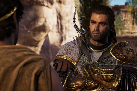 AC Odyssey Atlantis – The Blacksmith Or The Messenger