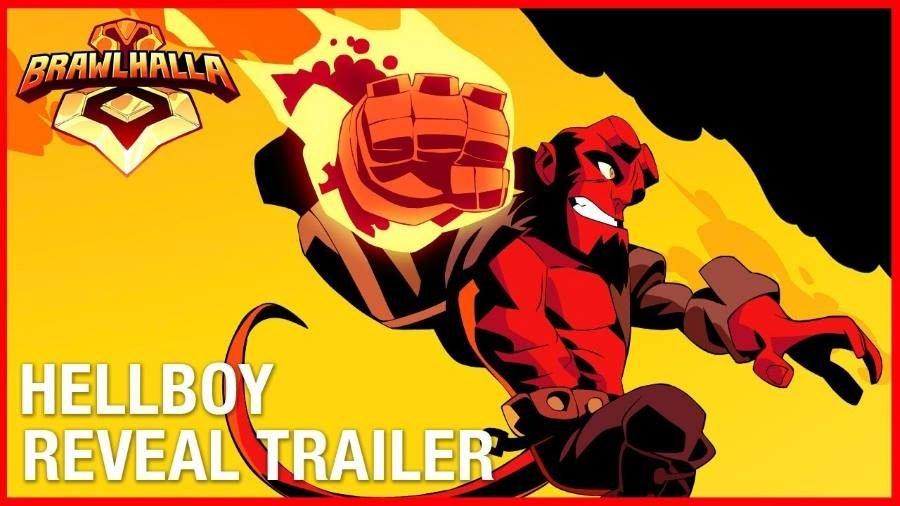 Brawlhalla Hellboy - Gamers Heroes
